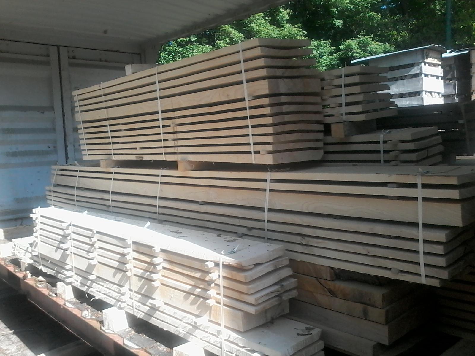 Planken van hout